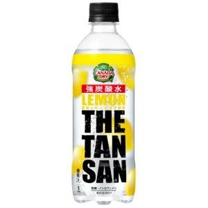 【まとめ買い】コカ・コーラ カナダドライ ザ・タンサン・レモン  ペットボトル 490ml×24本(1ケース)