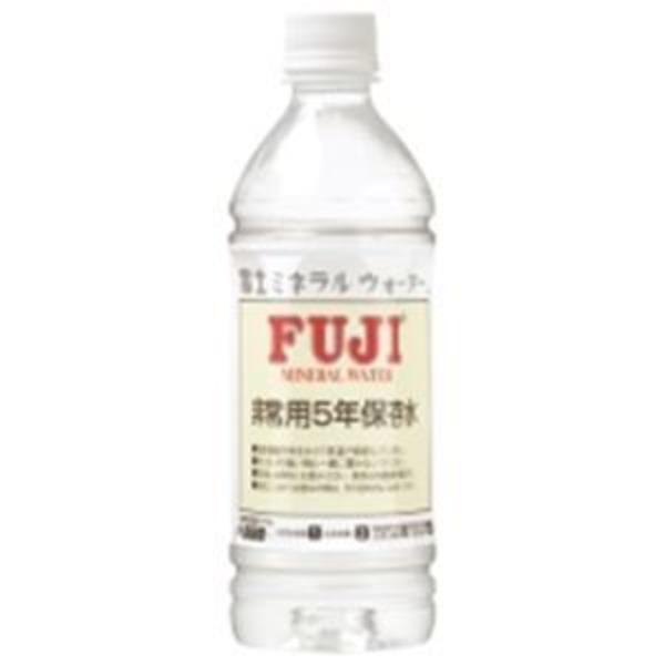 富士ミネラルウォーター 非常用保存飲料水 500mL×24本入 168