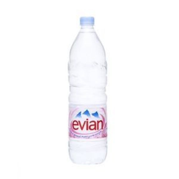 【ケース販売】ミネラルウォーター エビアン(evian)ペットボトル1.5L×24本セット まとめ買い