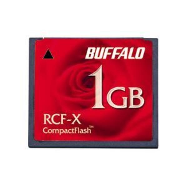バッファロー コンパクトフラッシュ 1GB RCF-X1GY 1枚