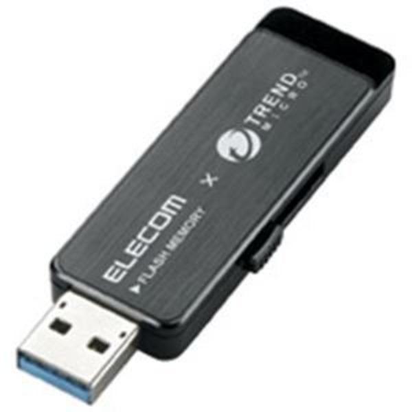 エレコム(ELECOM) セキュリティUSBメモリ黒16GB MF-TRU316GBK