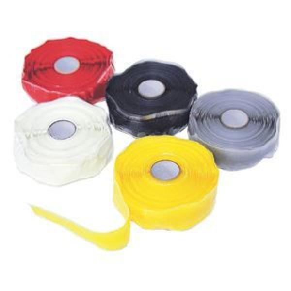 (まとめ)ミラクルテープ (自己融着テープ)  【イエロー (黄)×2セット】  プロメイト  Z-2510Y
