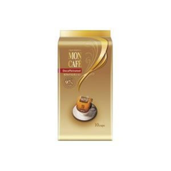 (業務用20セット)片岡物産 モンカフェ カフェインレスコーヒー 10袋