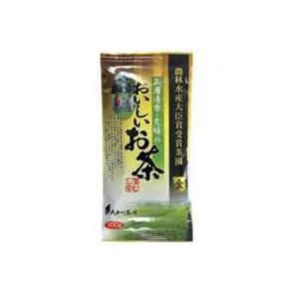 (業務用5セット)大井川茶園 三浦清市・克暢のおいしいお茶 金 100g