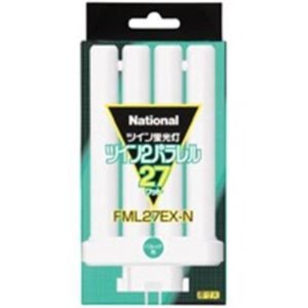(業務用30セット) Panasonic パナソニック ツイン蛍光灯 FML 27W FML27EXN 昼白色