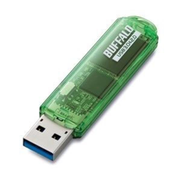 バッファロー USB3.0対応 USBメモリー スタンダードモデル 16GB グリーン RUF3-C16GA-GR