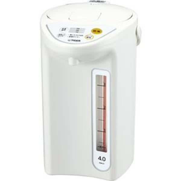 タイガー魔法瓶 マイコン電動ポット 4.0L ホワイト PDR-G401W