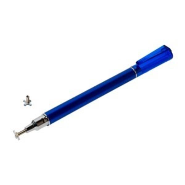 ミヨシ(MCO) 先端を交換できるタッチペン ねらえるタイプ STP-L02/BL 【2本セット】