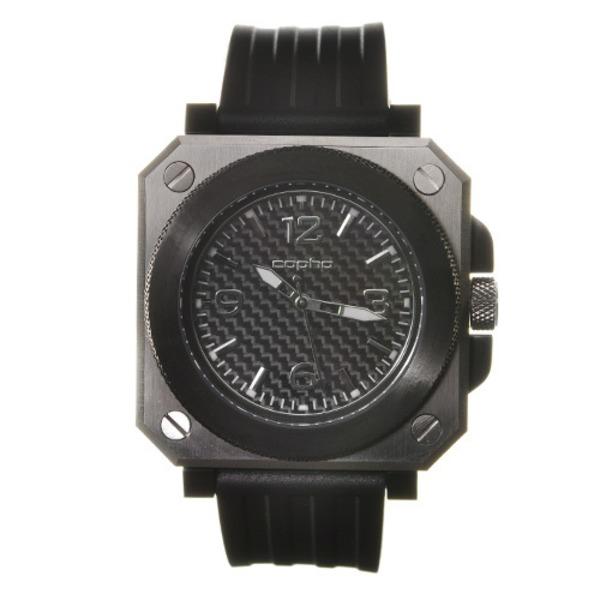 【北欧デザイン腕時計】 Copha コプハ  Replicant レプリカント Silver-Blabk シルバーブラック