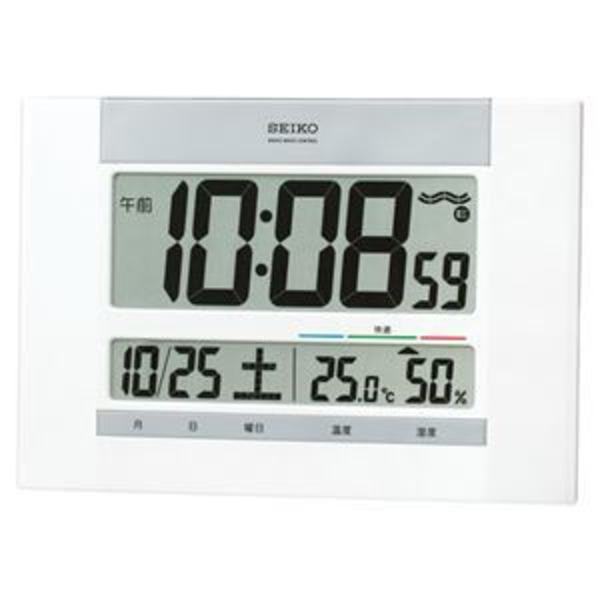 セイコークロック セイコー掛置兼用電波時計 SQ429W