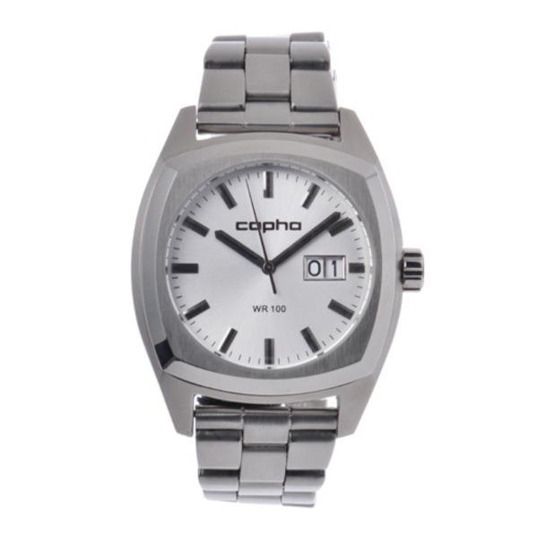 【北欧デザイン腕時計】 Copha コプハ  XL Steel Bracelet Silver エックスエル スチールブレスレッド シルバー