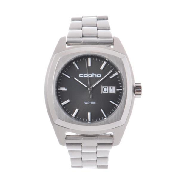 【北欧デザイン腕時計】 Copha コプハ  XL Steel Bracelet Black エックスエル スチールブレスレッド ブラック