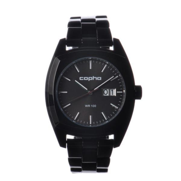 【北欧デザイン腕時計】 Copha コプハ  XL Steel Bracelet All Black エックスエル スチールブレスレッド オールブラック