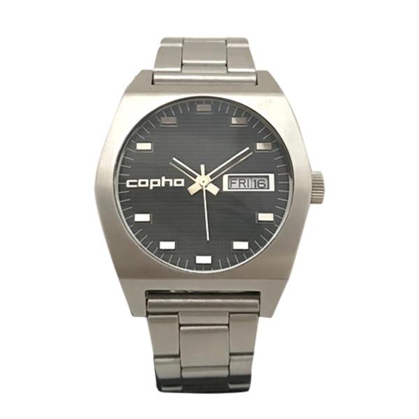 【北欧デザイン腕時計】 Copha コプハ Kult Steel Bracelet Black カルト スチールブレスレッド ブラック