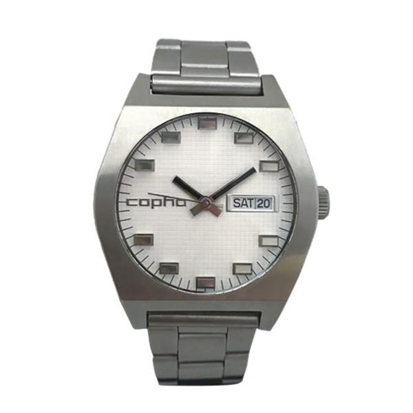 【北欧デザイン腕時計】 Copha コプハ Kult Steel Bracelet White カルト スチールブレスレッド ホワイト