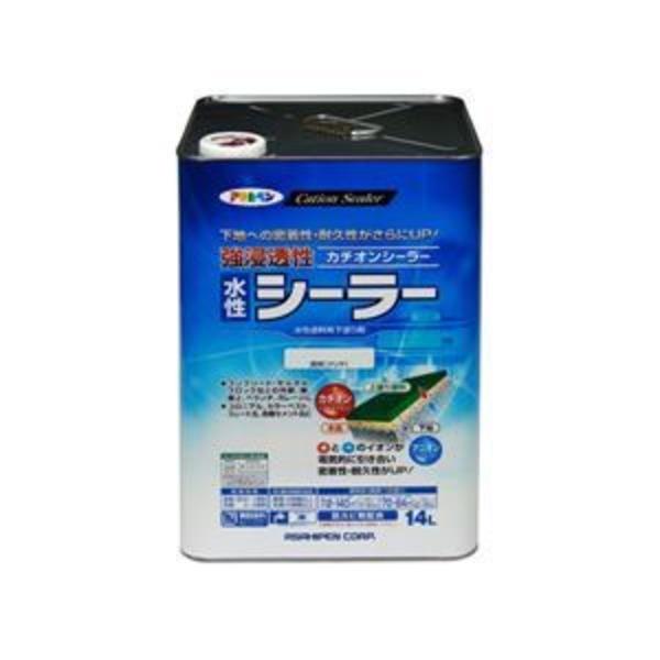 アサヒペン AP 強浸透性水性シーラー 14L 透明(クリヤ)