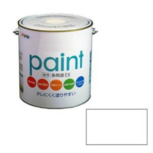 アサヒペン AP 水性多用途EX 3L 白