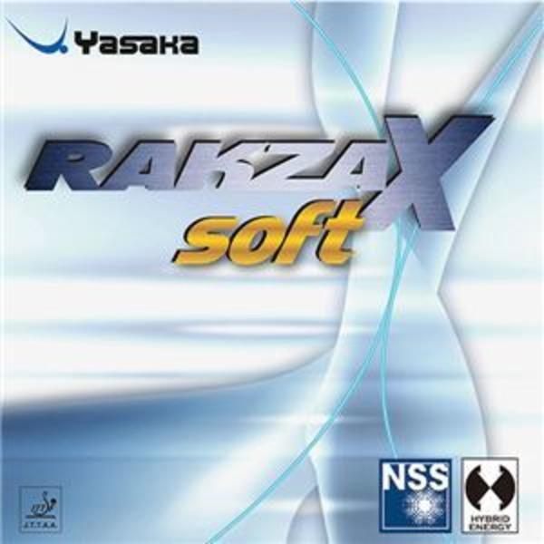 ヤサカ(Yasaka) 裏ソフトラバー ラクザX ソフト B83 クロ A