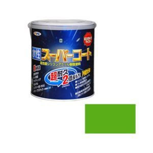アサヒペン AP 水性スーパーコート 1.6L 若草色