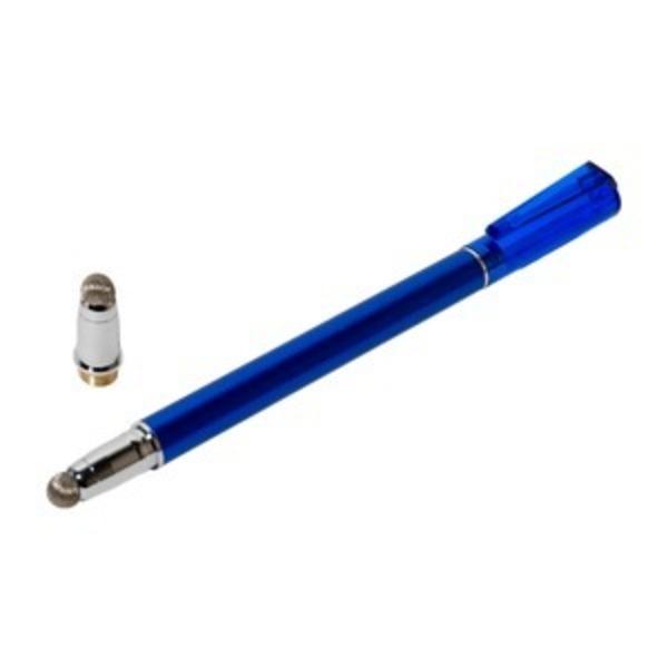 ミヨシ(MCO) 先端を交換できるタッチペン なめらかタイプ ブルー STP-L01/BL 【3本セット】