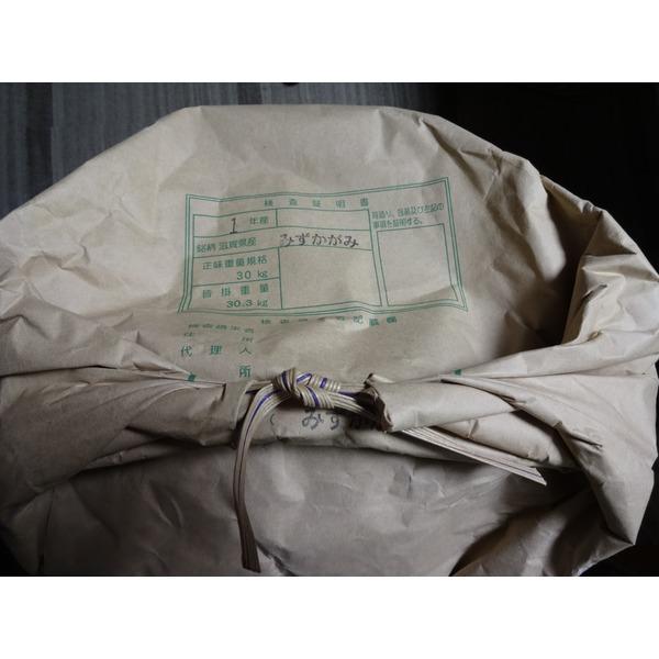 環境こだわり米 (特別栽培米)仕様 令和元年産「みずかがみ」玄米 30kg