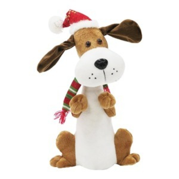 動くおもちゃ クリスマスドック