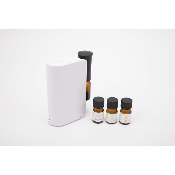 日本の四季の香りとアロマディフューザー 【冬の香り】3本セット