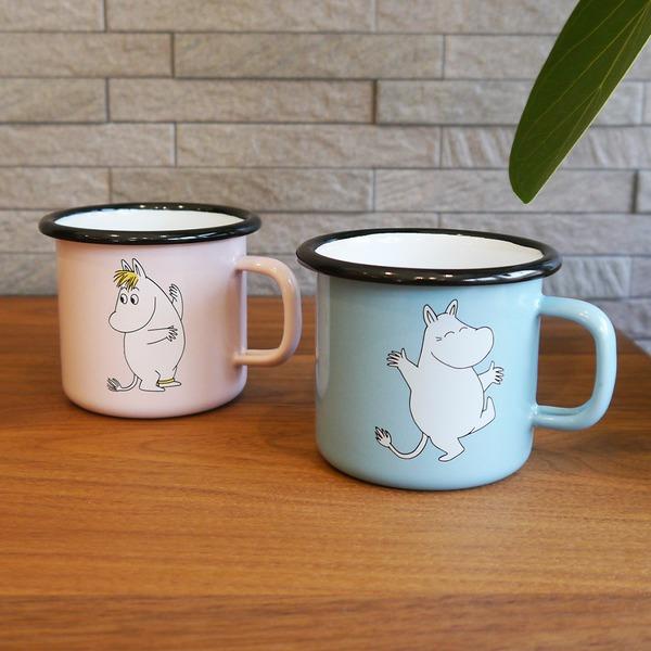 ムーミン ホーローマグカップ【ムーミン&フローレン】