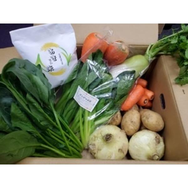 ばぁばの野菜とお米(2kg)セット