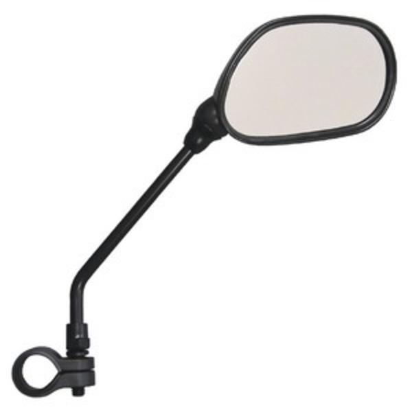 サイクルミラー/自転車ミラー 【右側専用】 反射板付き 角度調節可 簡単装備