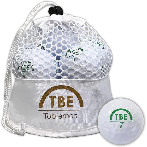 メッシュバック入り!ゴルフボール 公認球 2ピース 1ダース(12個入り) ×12袋ホワイト