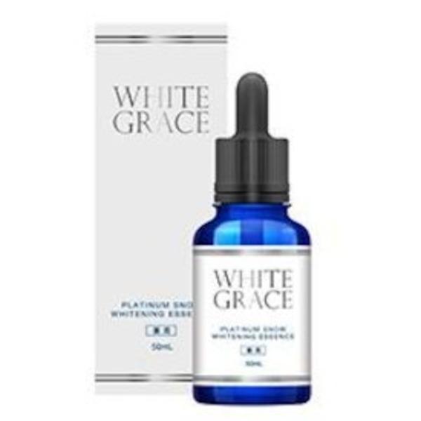 ホワイトグレイス プラチナムスノーホワイトニングエッセンス/最先端の美白医療から生まれた「トリプル薬用処方」