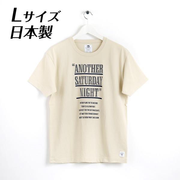日本製 ドライ天竺TシャツLサイズ 半袖 サンド ベージュ 適度な伸縮性で着心地抜群 DS2-1003-L-SND
