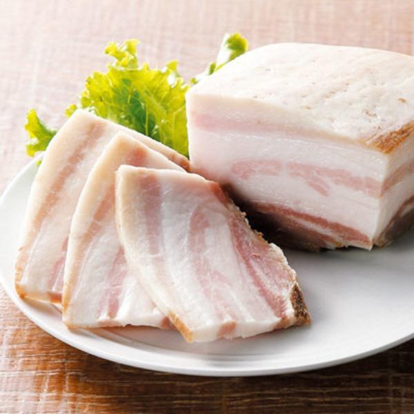 完全無添加  上州もち豚吊し焼きパンチェッタ(200g×3)備長炭吊し焼き叉焼(250g×2)