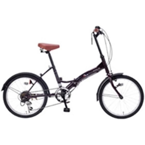 コロナの時代に人気殺到! シマノ製6段ギア付20インチ折り畳み自転車(ディープパープル)
