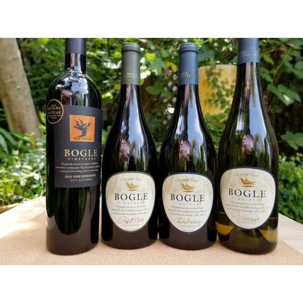 カリフォルニアワイン(赤・白4種の各1本)セット
