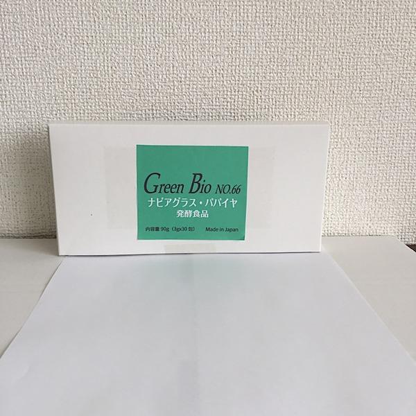 サプリメント 体元気! Green Bio  No.66  ナピア・パパイヤ発酵食品